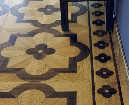 parquet in old chic paulette