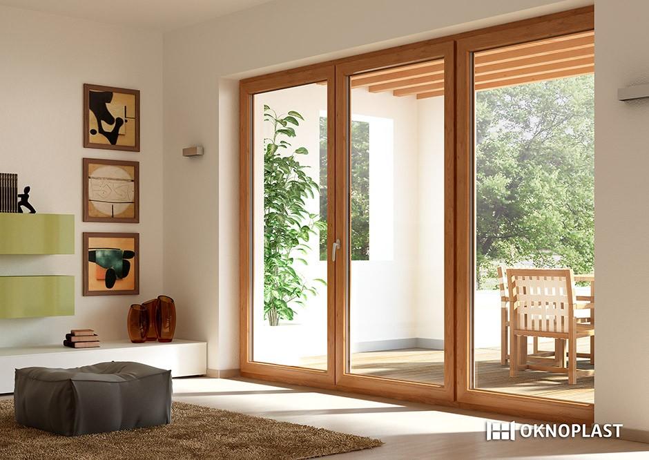 Oknoplast porte e finestre per il risparmio energetico ed for Finestra 4 ante